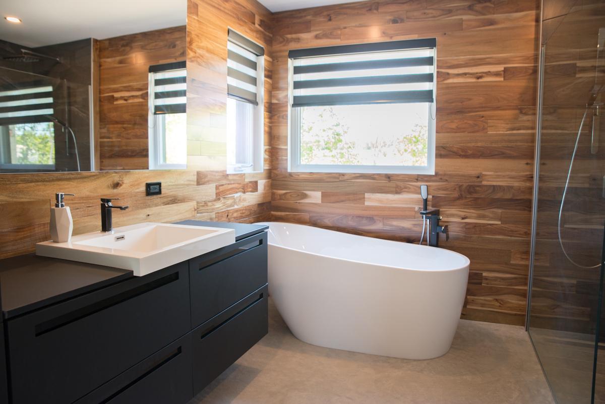 Salle de bain design | Construction D-Mark